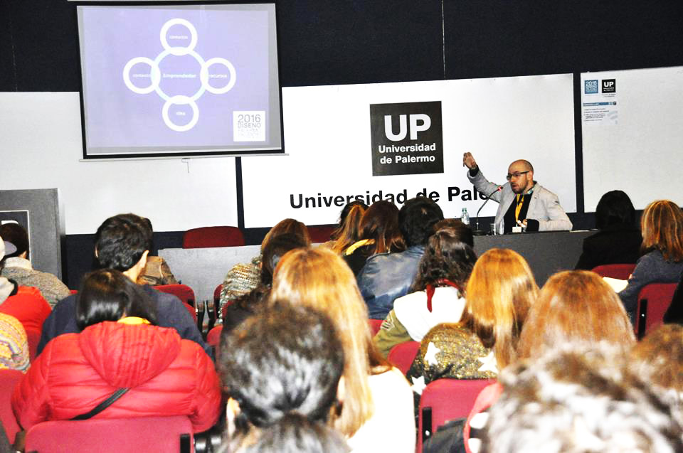 Conferencista - Universidad de Palermo